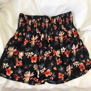 Hollister Floral Skirt